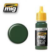 PROTECTIVE GREEN<br> A.MIG-0023